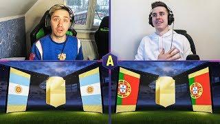 ŚWIRNIĘTY PACK AND PLAY! ADRYAN VS DEV! | FIFA 18