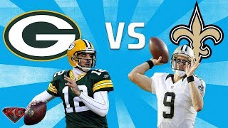 Madden 18 Green Bay Packers vs New Orleans Saints All Madden | PS4 Pro Gameplay