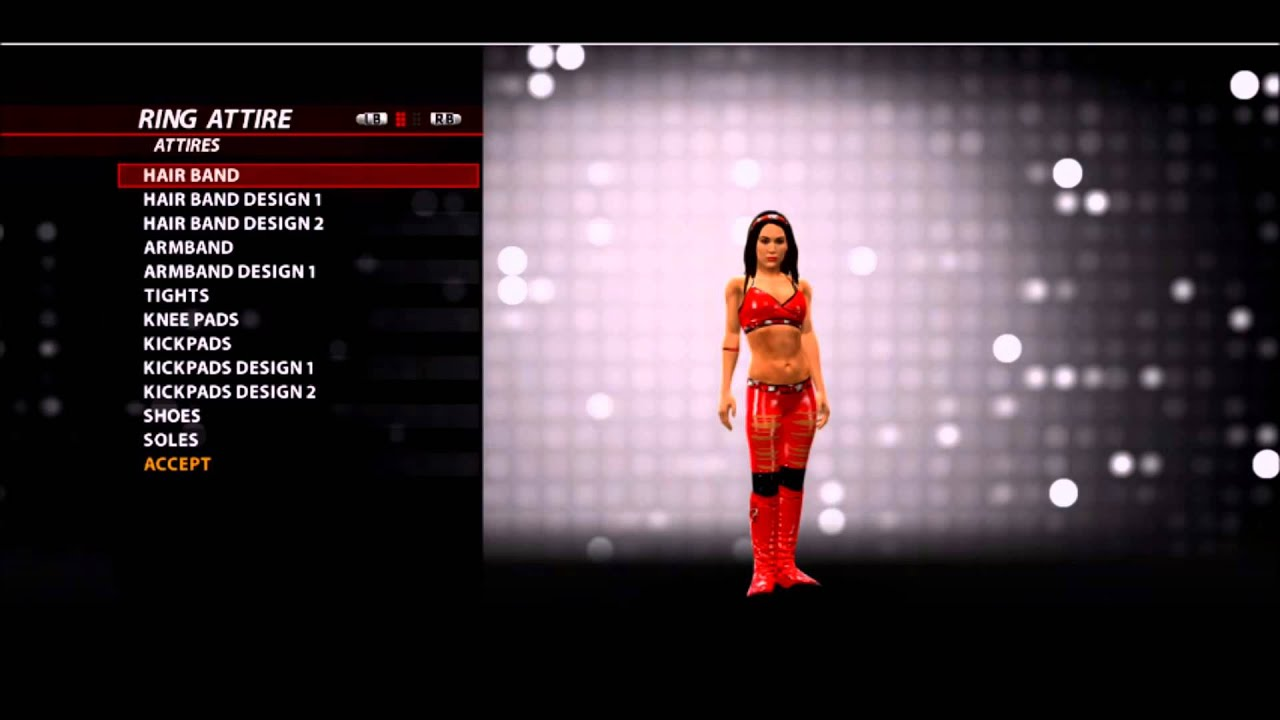 WWE 2k16 Brie Bella superstar threads (GLITCH) - YouTube