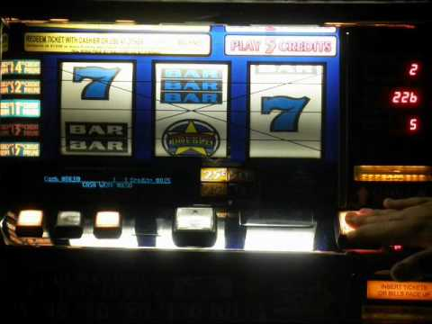 white and blue slot machine for sale