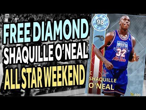 NBA 2K18 - MyTeam - FREE Diamond Shaq - All Star Weekend