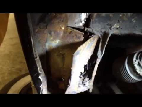 Rusty Chasis - Nissan Figaro