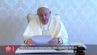 Pope sends video message ahead of Holy Week