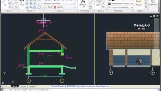 Оформление и печать из рабочего поля в AutoCad 2011(, 2015-06-23T14:21:22.000Z)