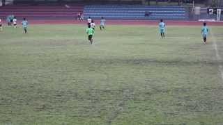 2015 UFL Group A U15 Match 05 Soceroo vs Pachanga