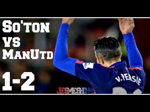 Southampton VS Manchester United 1-2 (HD)