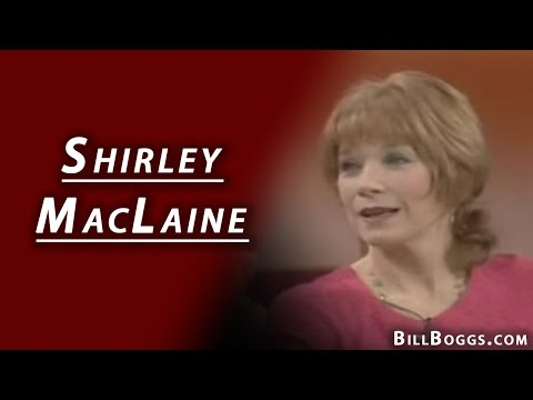 Shirley MacLaine Interview with Bill Boggs