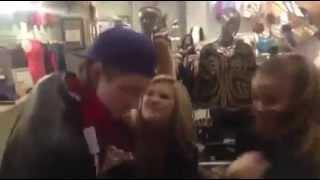 Olivia Holt and Luke Benward rapping