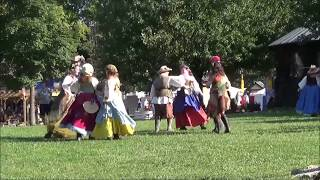 Ohio Renaissance Festival Dancing and Maypole Dance