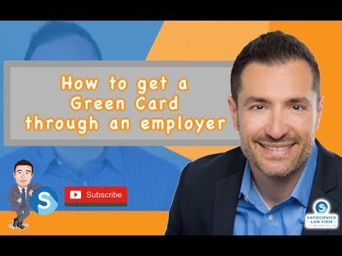 How to get a Green Card through an employer (EB2/EB3) : San Diego Immigration Lawyer