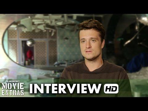 The Hunger Games: Mockingjay - Part 2 (2015) BTS Interview - Josh Hutcherson is 'Peeta Mellark'