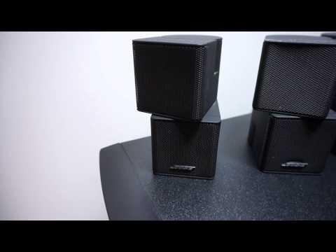 Bose Lifestyle AV28/PS28 System Component Demonstration