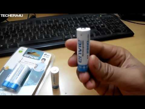 Hindi | envie 2800 mAh rechargeable batteries | Battery | Unboxing | India