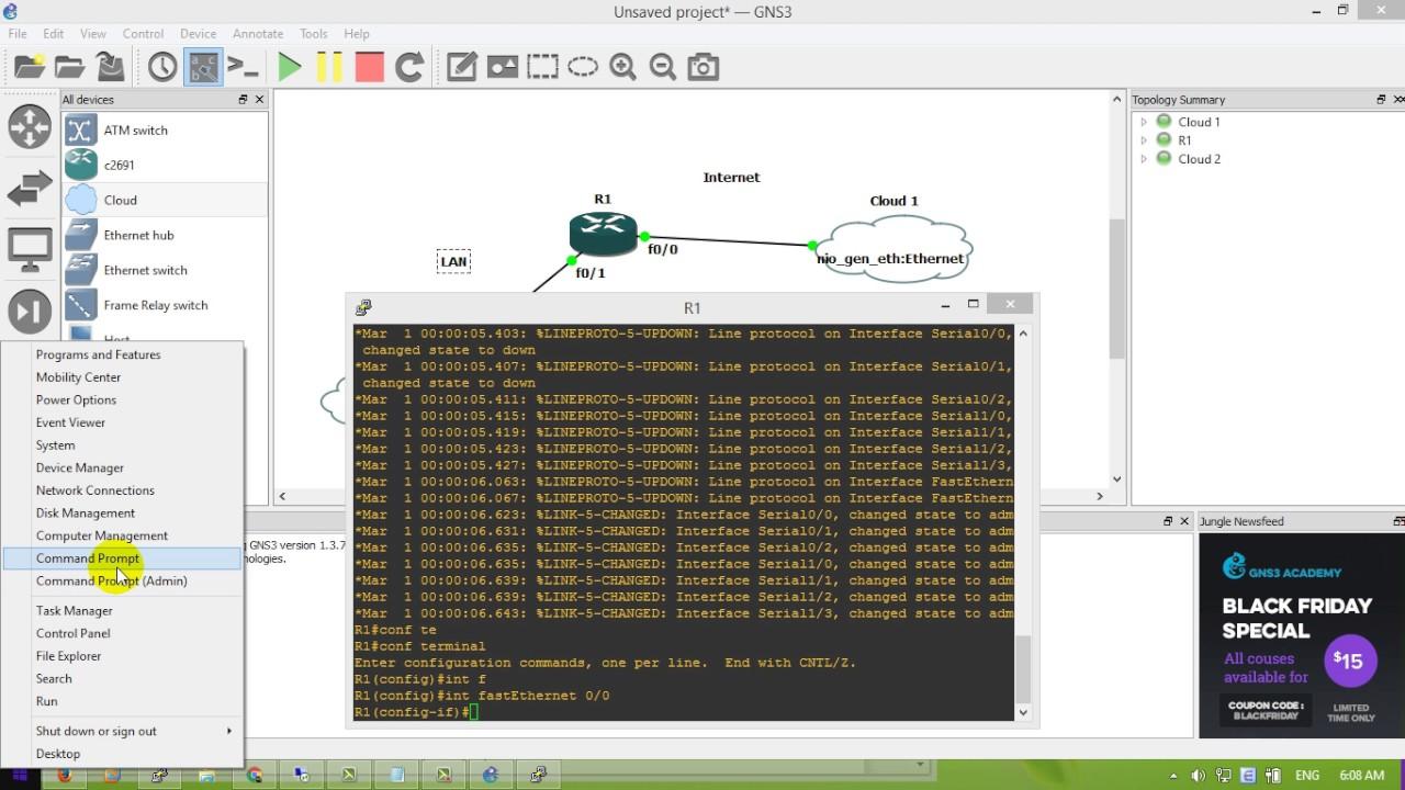 Config Router Send Syslog to Logstash - YouTube