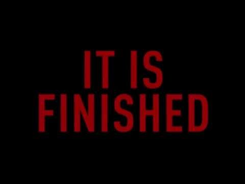 It Is Finished Lyric Video