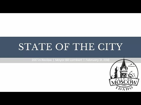 Moscow, Idaho - State of the City Address - 2018