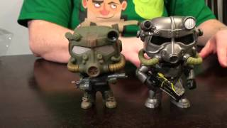 Funko Pop! Games Hot Topic Exclusive Fallout 4 T-60 Power Armor figure review and unboxing