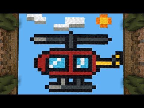 Minecraft: A VOLTA DO BUILD BATTLE SÓ COM PIXEL ART! (BUILD BATTLE) thumbnail