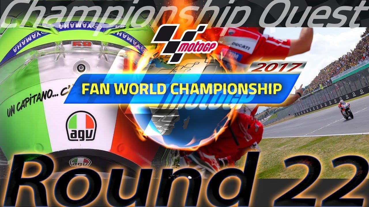 #CatalanGP: 2017 MotoGP Fan World Championship Round 22 - YouTube
