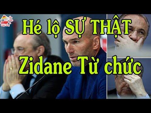 Zidane Từ chức Real Madrid | Lí do thực sự khiến Zidane từ chức Real | Ẩm thực & Cuộc sống