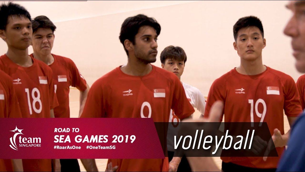 Road To Sea Games 2019 Volleyball Ft Teddy Teo Wilson Ng Ajay Singh Travis Ang Youtube