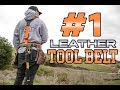 BEST Leather Carpenter's Tool Belt | Buckaroo Leatherworks Review