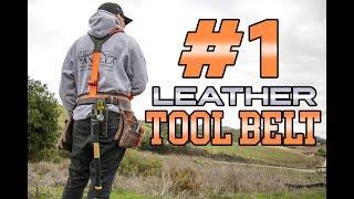 BEST Leather Carpenter's Tool Belt | Buckaroo Leatherworks Review