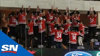 Travelling Fathers Storm Surge After Hurricanes' Win Vs. Stars