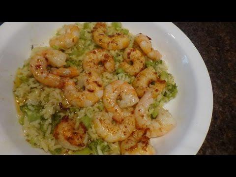 Quick Shrimp Broccoli Rice  Dinner (20 Minutes)