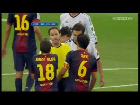 MESSI FREEKICK  vs REAL MADRID
