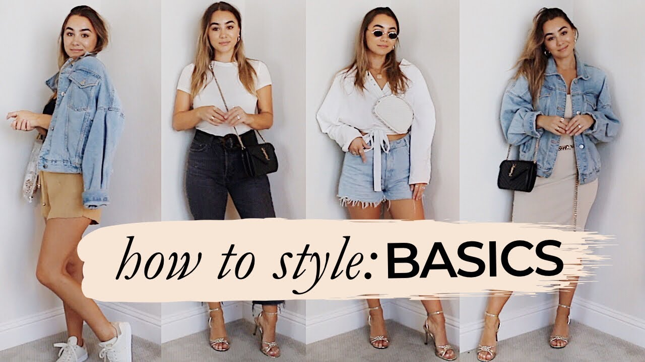 HOW TO STYLE BASICS! SUMMER | Julia Havens