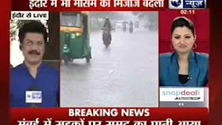 Weather changes in Bhopal before monsoon