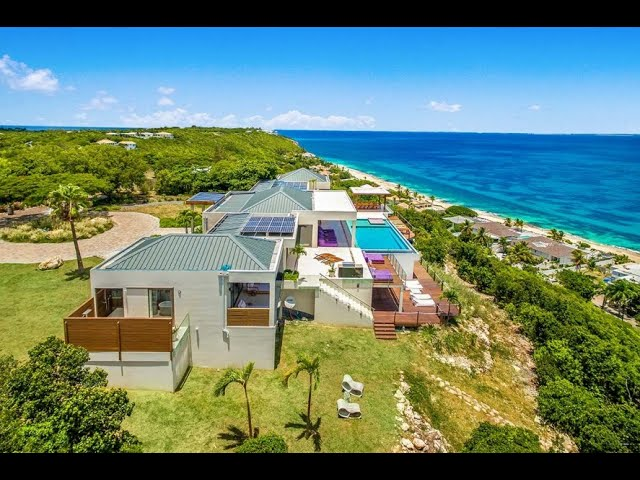 Caribbean Real Estate: Luxury Villa Amandara, St Martin / St Maarten