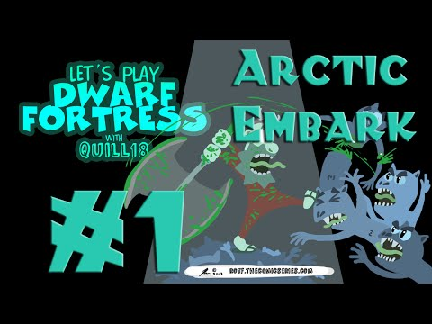Dwarf Fortress: Arctic Embark (a.k.a. Yetis Everywhere!)! #1
