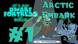 Dwarf Fortress: Arctic Embark (a.k.a. Yetis Everywhere!)! #1 thumbnail