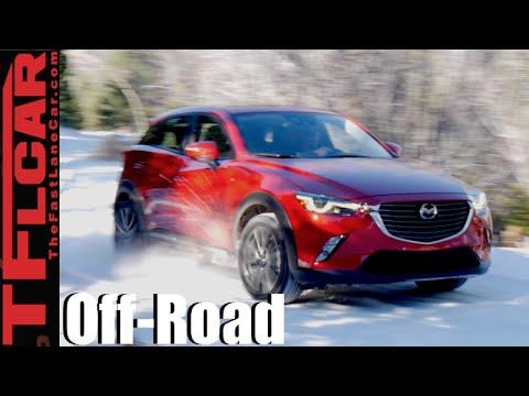 Mazda Mx3 2016 >> 2016 Mazda Cx 3 Awd Snowy Rocky Mountain Off Road Review