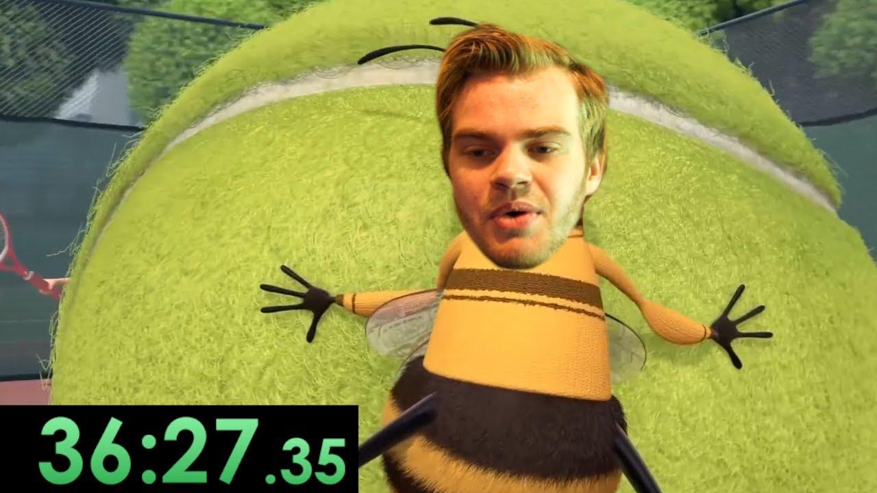 speedrunning the entire bee movie script