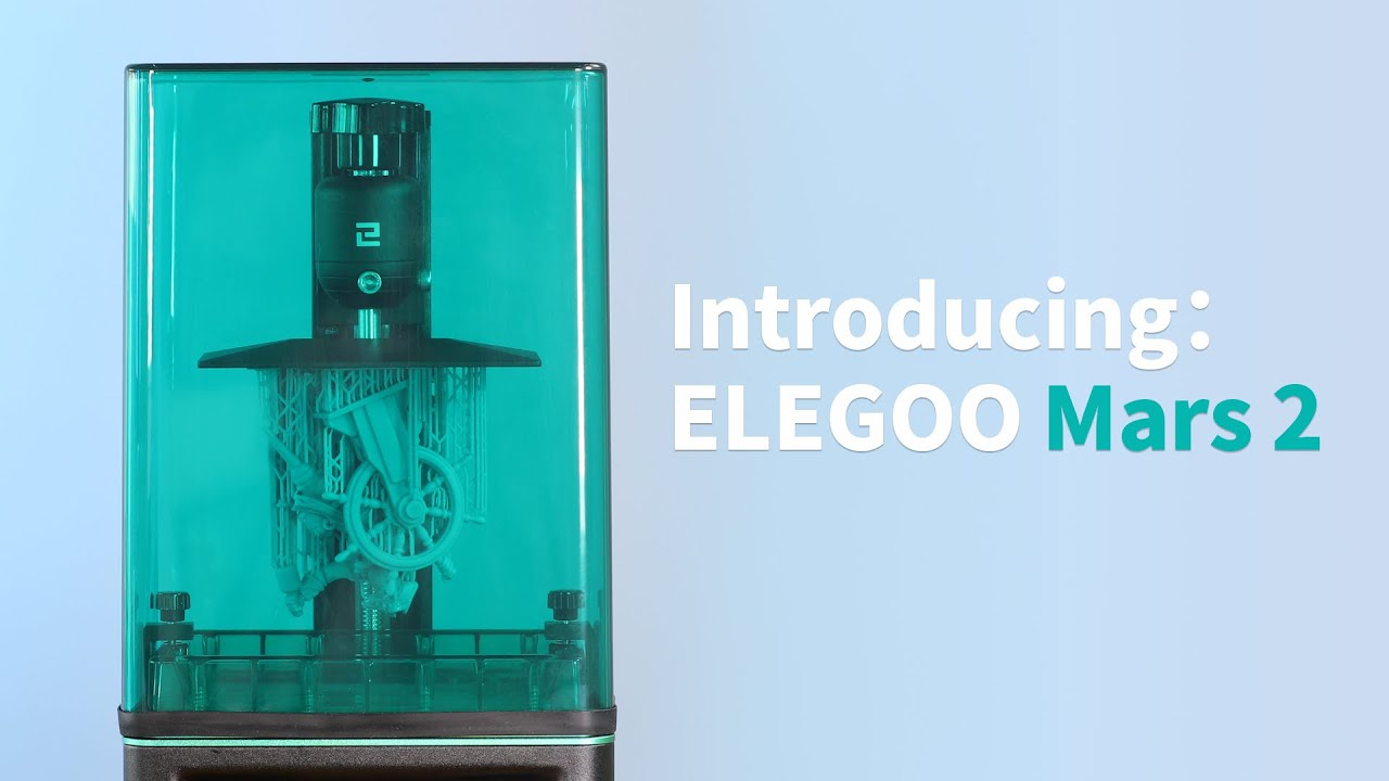 video Elegoo Mars 2 Mono