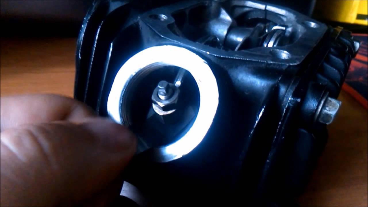 Настройка клапанов на Ирбис ТТР 125