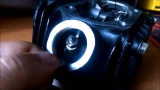 Настроювання клапанів на Ірбіс ТТР 125