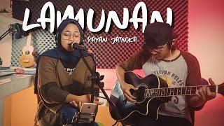 Download Lamunan - Yayan Jatnika (Live Akustik + Lirik) Cover Lagu Sunda by Santi & Anjar