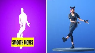 *NEW* Fortnite SMOOTH MOVES Emote With Popular Skins EXTENDED..!!
