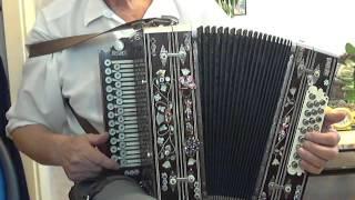 Уроки игры на гармони №3  Основы игры на правой клавиатуре.(демо)