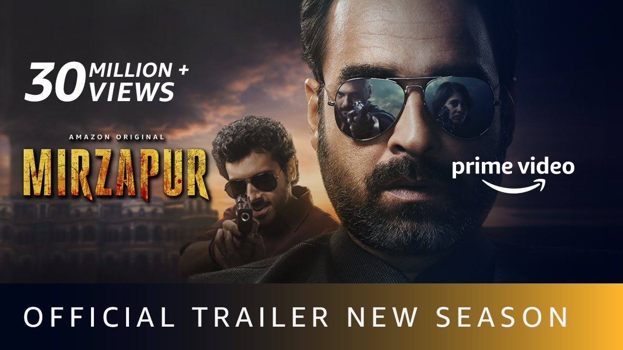 MIRZAPUR S2 - Official Trailer | Pankaj Tripathi, Ali Fazal, Divyenndu | Amazon Original |Oct23