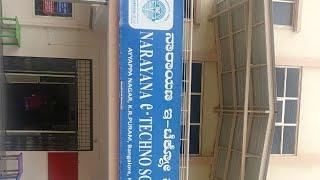 #parents Day@narayana School Kr Puram