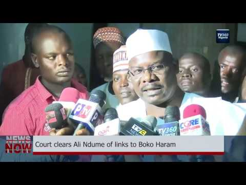 Court clears Ali Ndume of terrorism charges
