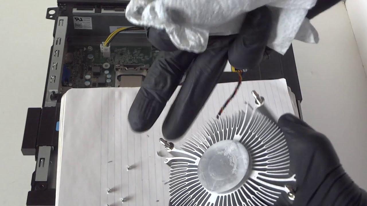 Dell Optiplex 3020 Upgrade Processor Youtube