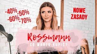 PROMOCJA ROSSMANN WRZESIEŃ 2019 / NOWE ZASADY! -70% MAKIJAŻ  polecanymi kosmetykami | CheersMyHeels