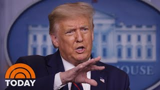 President Trump Suggests Delaying 2020 Election, Drawing Pushback From Both Parties | TODAY