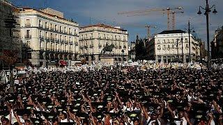 مظاهرات في إسبانيا تطالب بحظر مصارعة الثيران في الشوارع